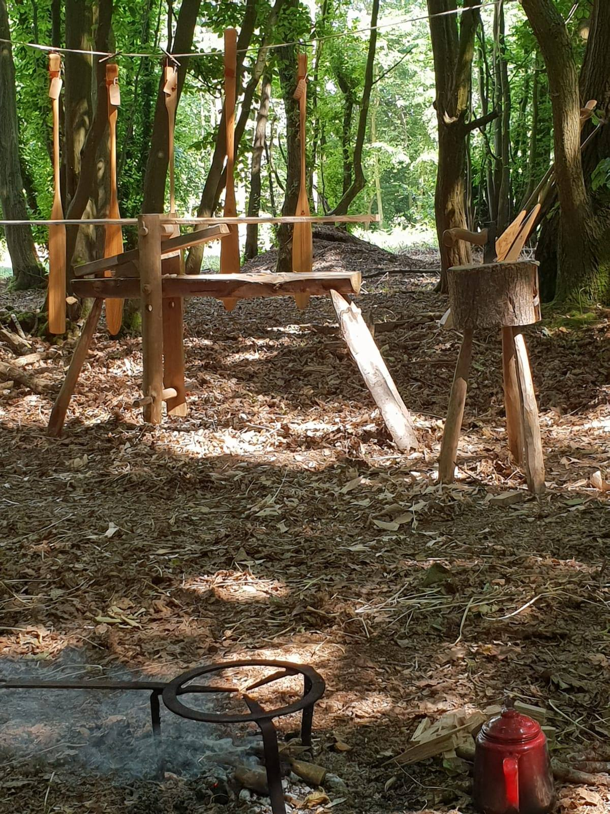 LBN 10 days living on the frontier camp woodcraft